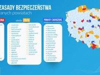 Powiat Wejherowski w żółtej strefie