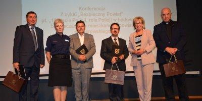 Konferencja z cyklu - Bezpieczny Powiat.