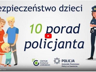 Bezpieczeństwo dzieci: 10 porad policjanta